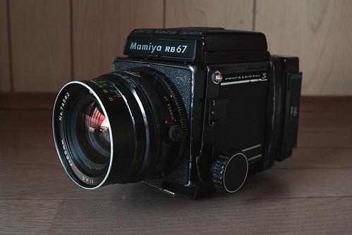 My Mamiya RB67