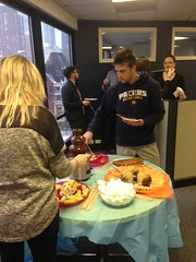 Fondue at the Chicago office!