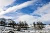 Nieve y hielo por Urbasa ésta mañana.