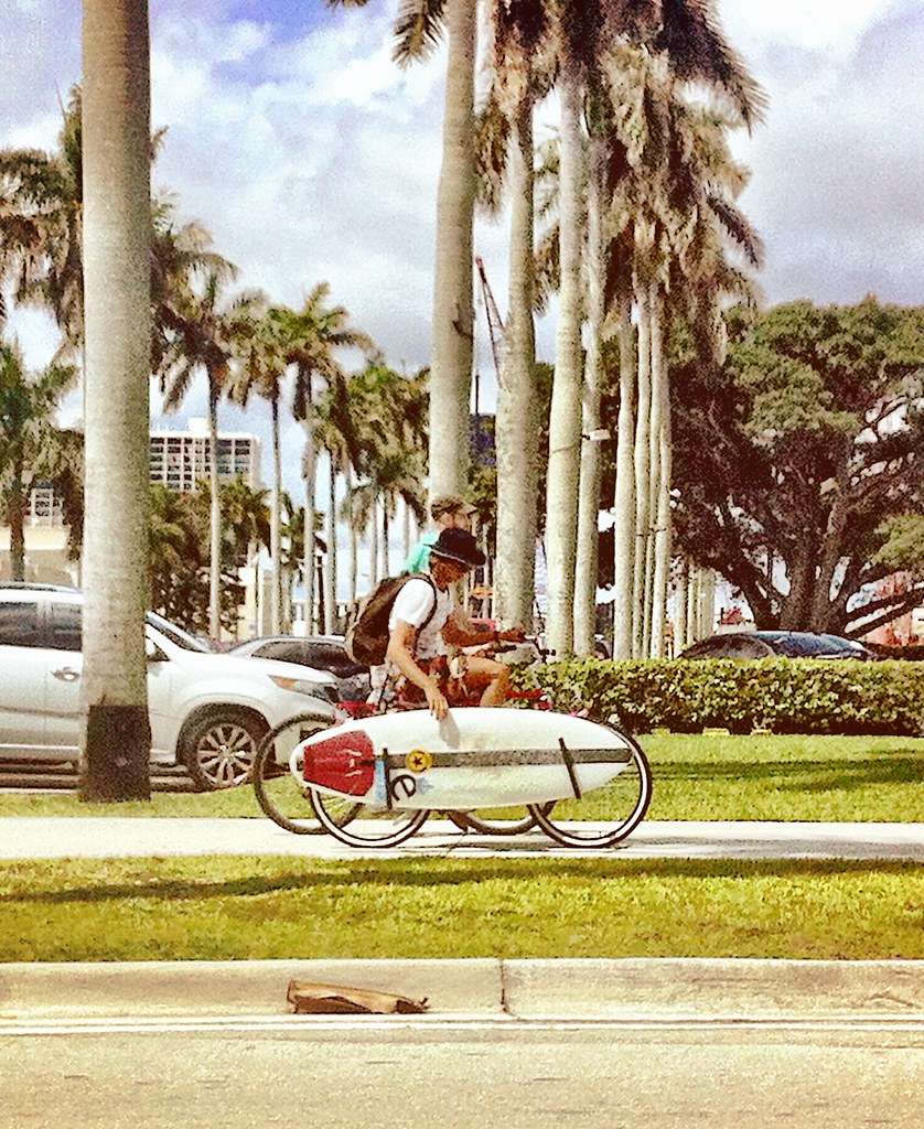 Surfer Cycle Chic