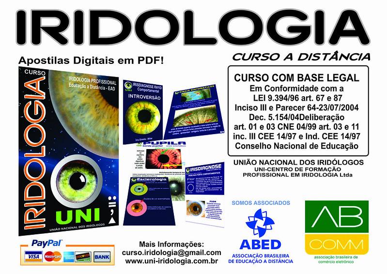 IRIDOLOGIA - CURSO DE IRIDOLOGIA