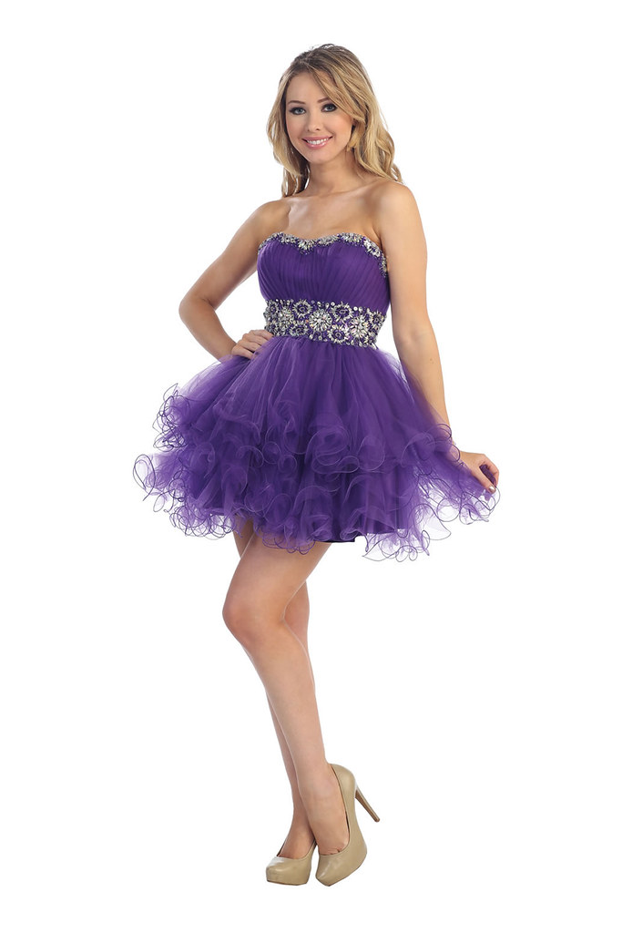 New Cute Flirty Sexy Short Straples Homecoming Cocktail