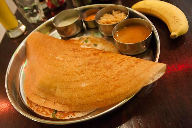 Bhavan grilled thali, Adyar Ananda Bhavan