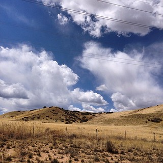 """Lonesome Valley Panorama 3.0"" #prairie, #prescottvalley, #lonesomevalley, #arizona, #sky, #cloud, #landscape, #облака, #небо, #прерия, #аризона, #пейзаж, #paulewing, #zvuchno"