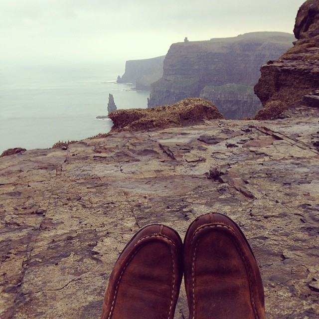 The Cliffs of Moher rocked my entire dang world.