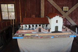 Mission San Miguel Arcangel model restoration