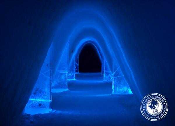 Snow Village Finland Hallway