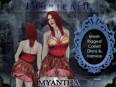 Immateria Myantha rose