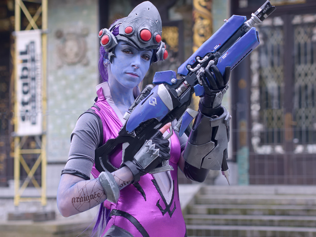 related image - Shooting Fatale - Overwatch - Enaelle's Arts - Bruxelles -2017-03-03- P2010059