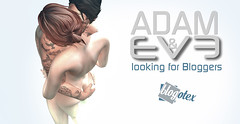 ADAM and EvE looking for Bloggers BLOGOTEX