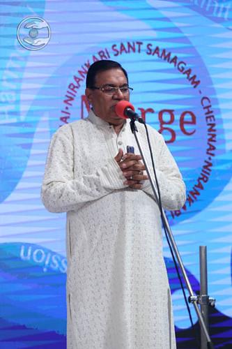 SNM Zonal Incharge, Shyam Sunder Keswani from Chennai