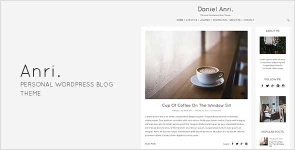 Anri WordPress Theme free download