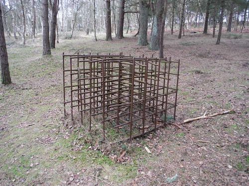 Cubic Steel Structure, The Atlantic Wall, Hankley Common