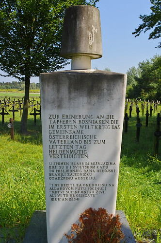 Soldatenfriedhofs für Gefallene des Ersten Weltkriegs in Lebring