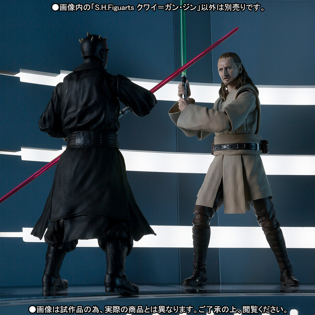 睿智的絕地大師登場!S.H.Figuarts【魁剛.金】星際大戰首部曲:威脅潛伏 Qui-Gon Jinn