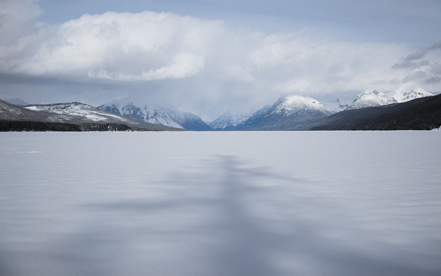 Frozen Lake McDonald