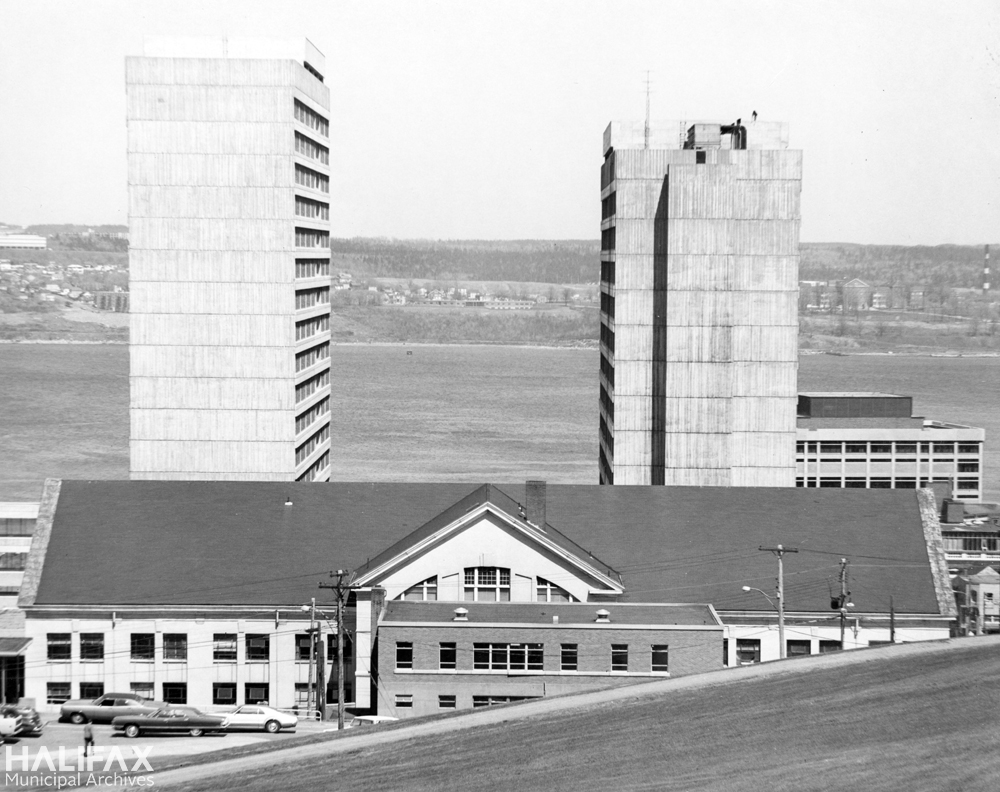City Market building and Duke Towers