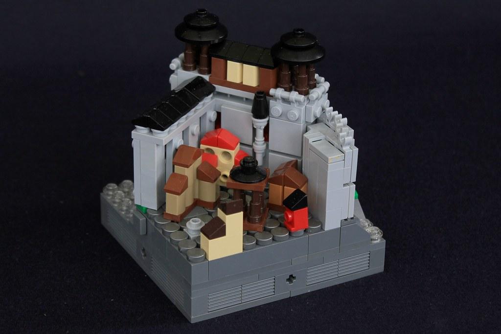Summer Joust Prize: Faerdham Hall (custom built Lego model)