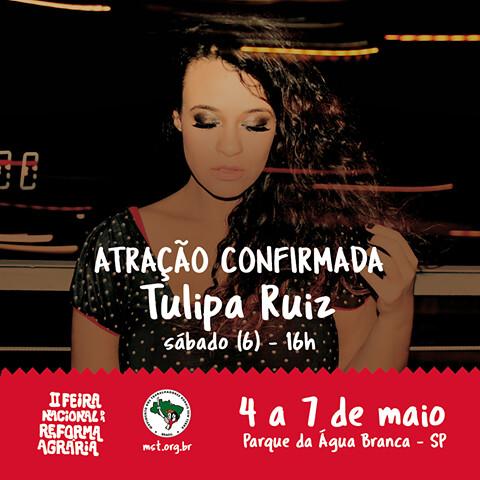 Feira da Reforma Agrária em SP terá shows de Tulipa Ruiz e Liniker