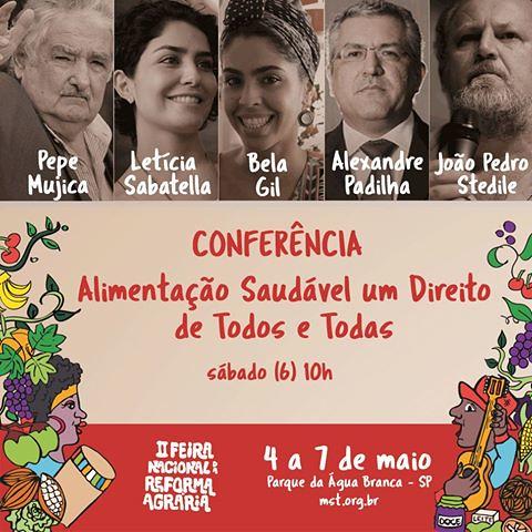 Die 2. Nationaln Messe für Agrarreformen der brasilianischen Landlosenbewegung (MST) fand vom 4. bis 7. Mai in São Paulo statt