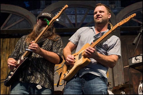 Honey Island Swamp Band during Jazz Fest day 2 on April 29, 2017. Photo by Ryan Hodgson-Rigsbee www.rhrphoto.com
