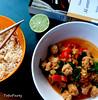 Soya Chunks Noodle Soup
