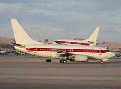 EG&G  (United States Air Force)                                  Boeing 737's                                     N869HH & N288DP
