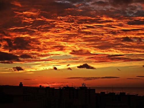 andalucia amanecer marbella málaga mar mediterráneo costadelsol cielo españa spain nubes nature naturaleza sunrise