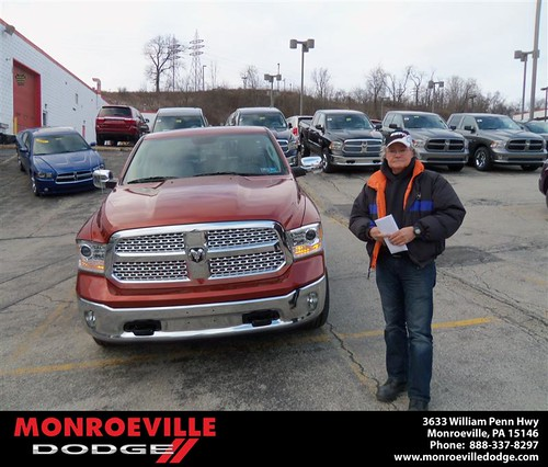 Monroeville Dodge would like to wish a Happy Birthday to Ronald Argo! by Monroeville Dodge