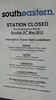 Lewisham railway station's shut tomorrow