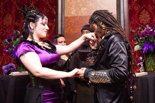 CEREMONY062 - Lady Zombie & Ali Fangsmith Wedding