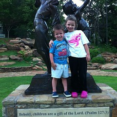Behold, children are a gift of The Lord Psalm 127:3.