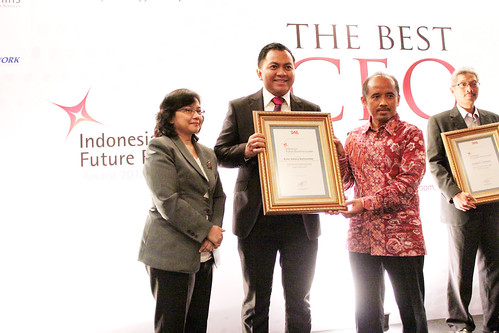 The Indonesia Future Business Leader 2013: Rudy Azhary Dalimunthe.