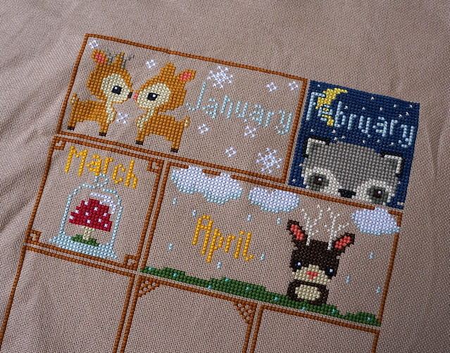 Woodland Sampler April