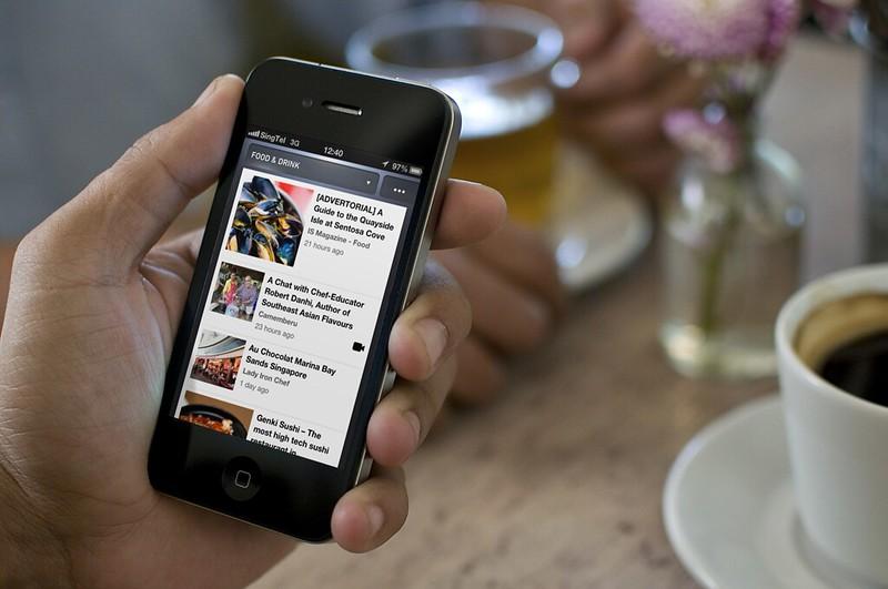 NewsLoop on iPhone