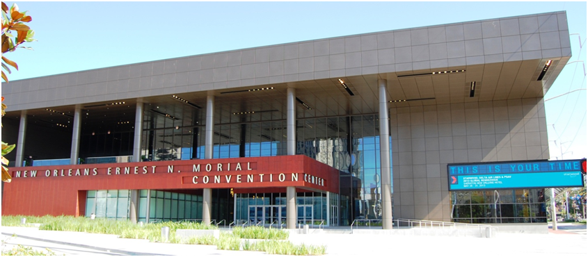 Starwood Hotels Rendezvous With Top Global Clients At The New: Map New Orleans Morial Convention Center At Usa Maps