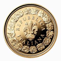 Italy 20 Euro Flora reverse