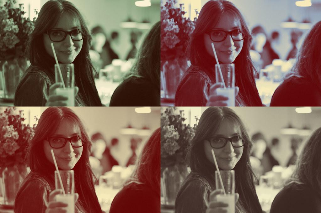 Giorgia & her drink