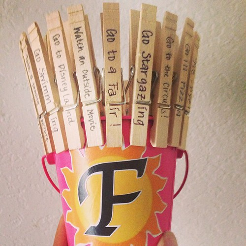 Summer Bucket o' Fun! #crafty #modpodge #cheap #family