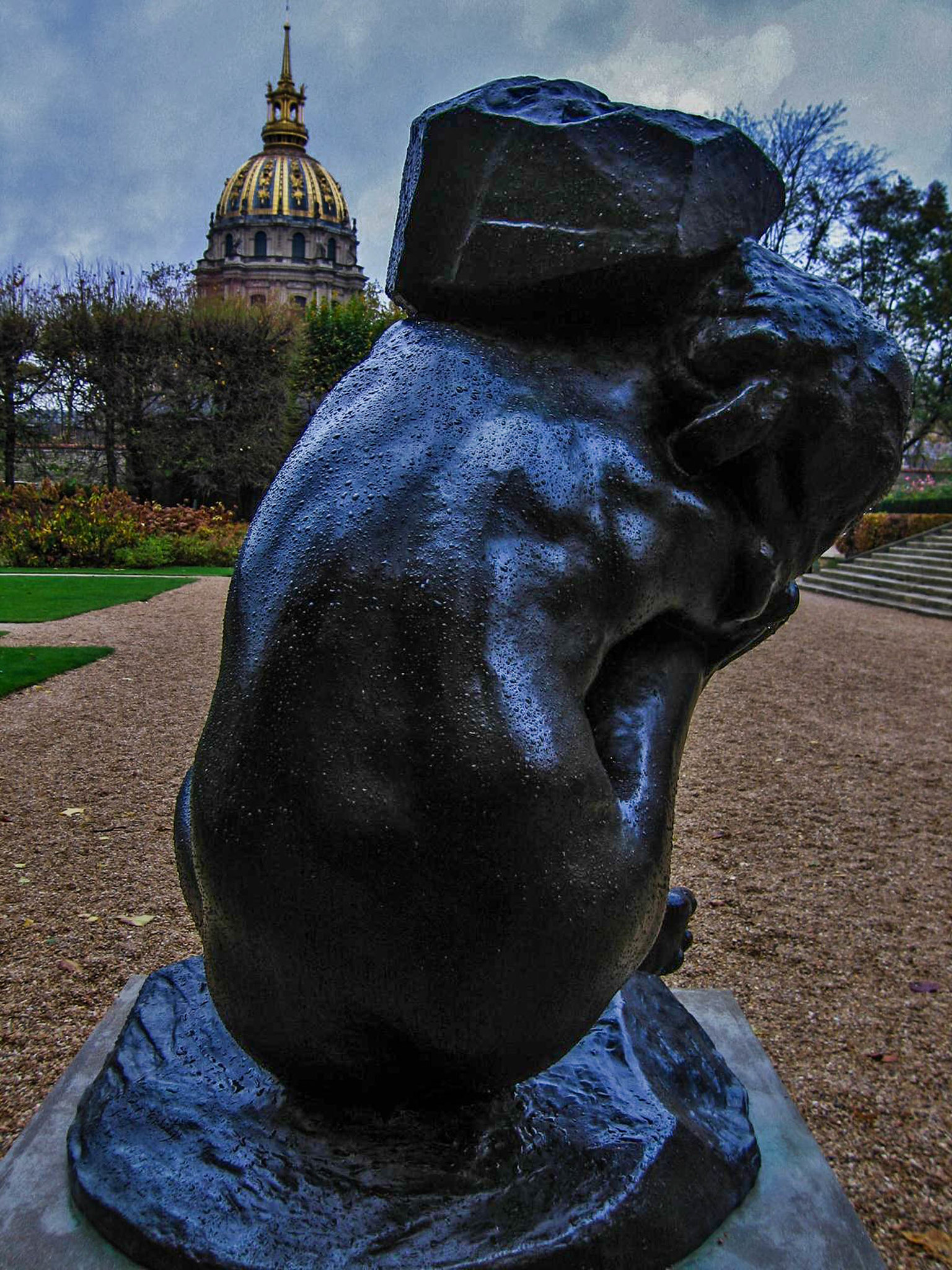 Shouldering a Burden, Musee Rodin