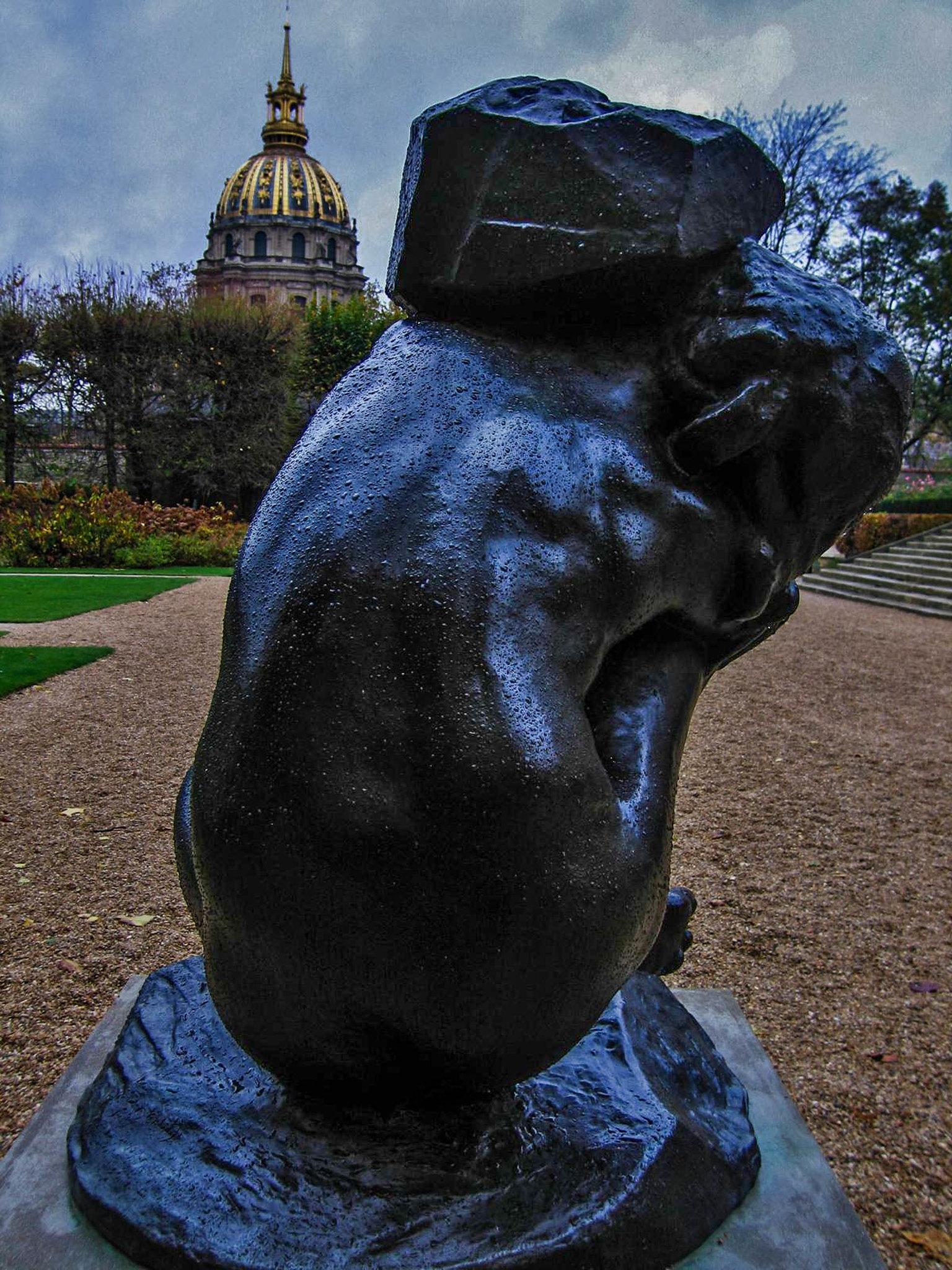 Shouldering a Burden, Musee Rodin
