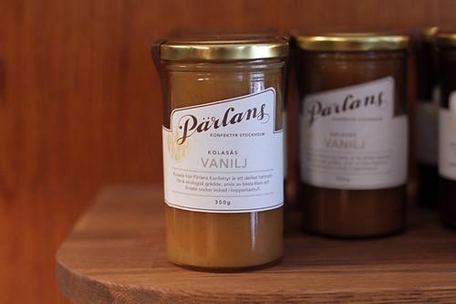 Vanilla caramel sauce at Pärlans Confectionary/Konfektyr