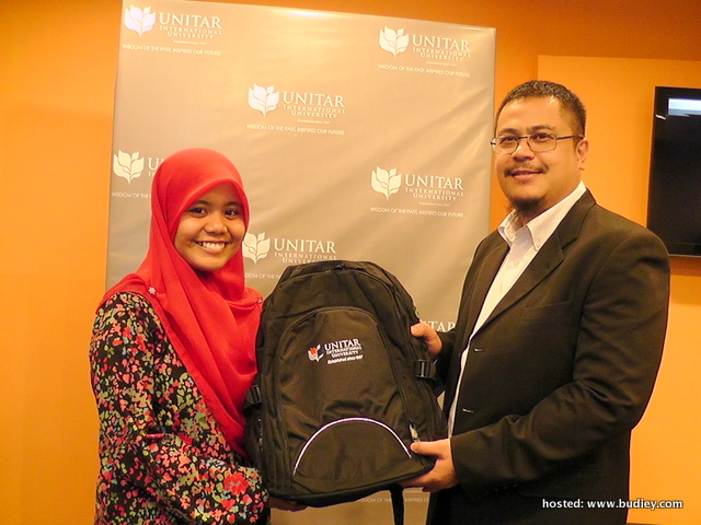 Najwa Latif Joins UNITAR International University