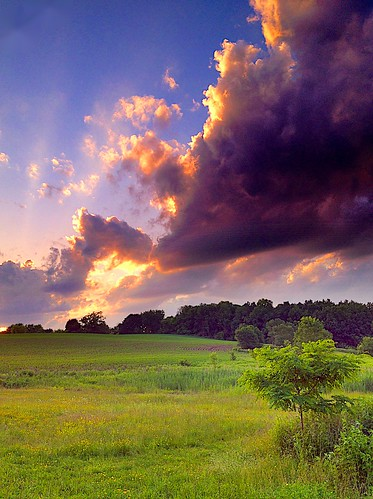 park sunset colors night cloudy dusk photostream pittsford knickerbocker