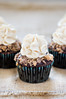 Chocolate Toffee Crunch Cupcakes