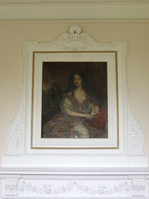 025 mad Duchess of Portsmouth  Louise de la Queroaille mistress Charles II 1673 attrib Henri Gascars Board Rm