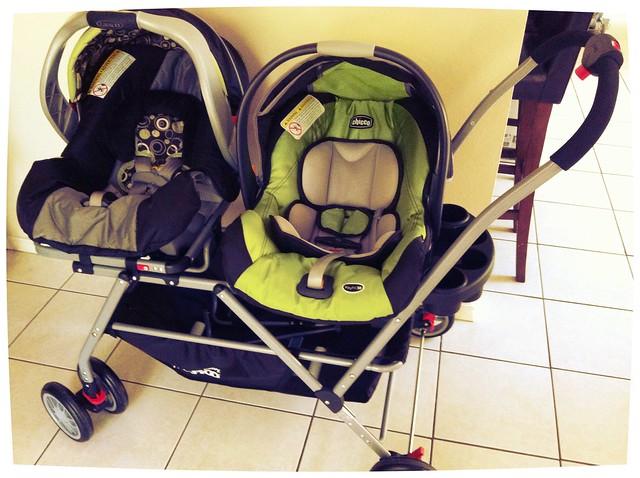 Chicco Car Seat Keyfit  Stroller