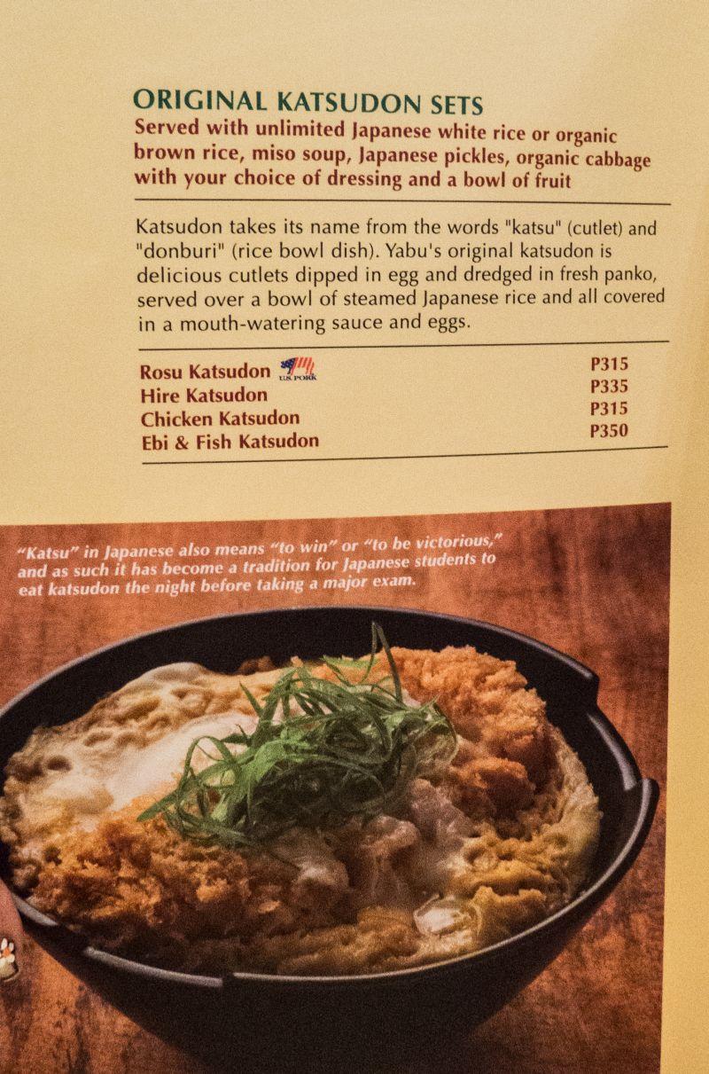 Yabu Japanese Restaurant