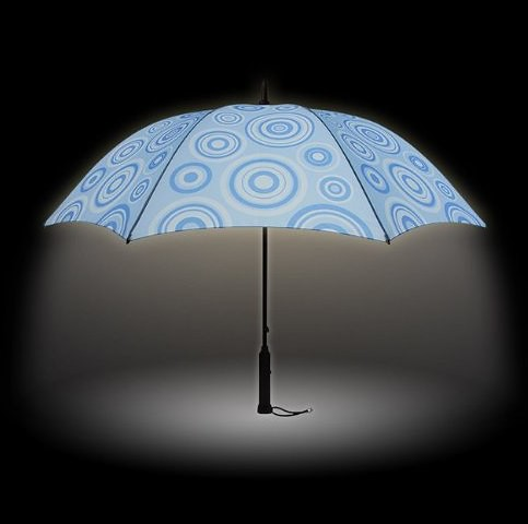 光るファッション傘 bright night ブライトナイト 大人用 雨傘
