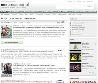 Startseite Presseportal.de
